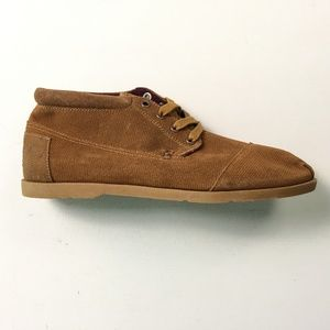 Toms Brown Boots 9 A23:x01767